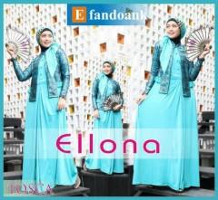 baju muslim branded grosir  ELLONA by Efan Doank Tosca