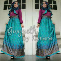 model baju pesta muslim wanita  Gwyneth Tosca