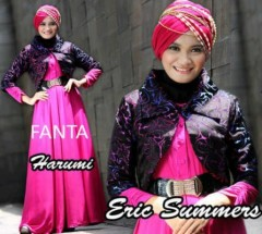 baju muslimah online  HARUMI by Eric Summer Fanta
