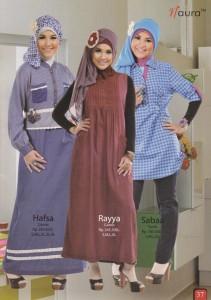 busana muslim elegan  Hafsa, Rayya, Sabaa