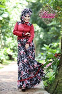 baju muslim kantor online  LITTLE MISSY by Maura Red