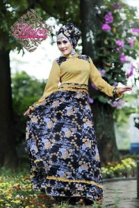 baju muslim pesta wanita   LITTLE MISSY by Maura Yellow