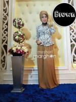 baju muslim elegan online  Moschel Brown