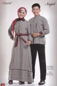 baju muslimah cantik  Najat by Naura