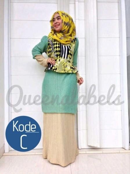 Queena Baju Muslim Gamis Modern Pusat Gamis Terbaru