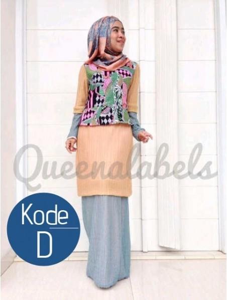 Queena Renata D Baju Muslim Gamis Modern