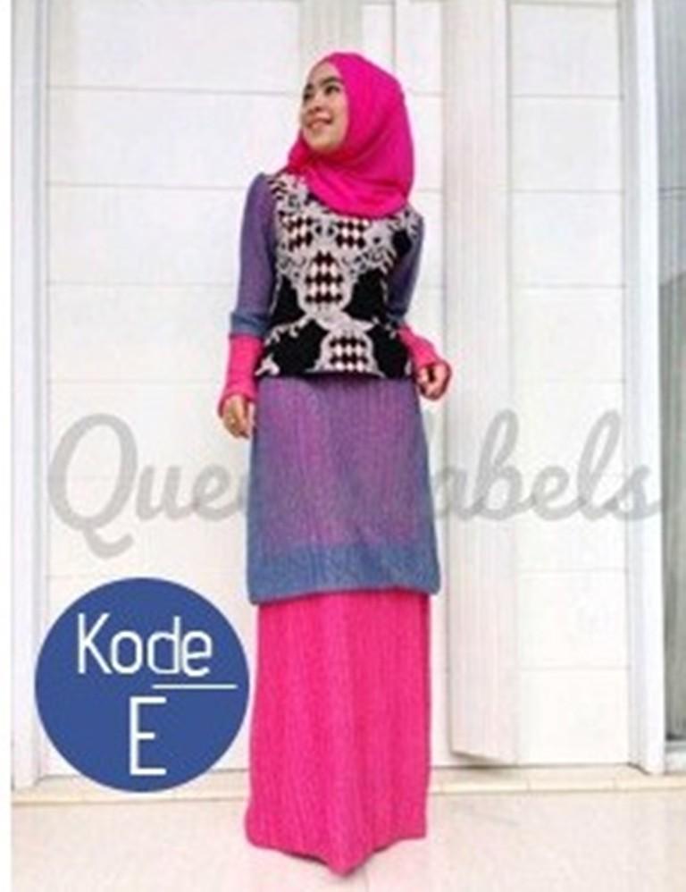 Queena Renata E Baju Muslim Gamis Modern