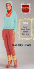 baju muslim terbaru  STEP UP STREACH Blue Sky bata