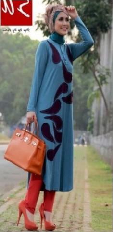 jual baju muslim untuk kerja  STEP UP TUNIQUE  Tosca