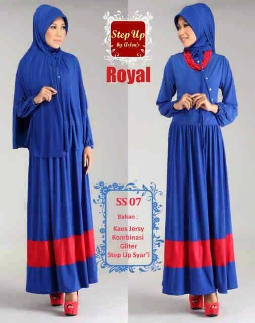 Step Up Syarifah Royal Baju Muslim Gamis Modern