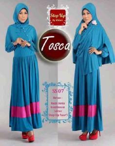 baju muslimah gaya  Step Up SYARIFAH Tosca