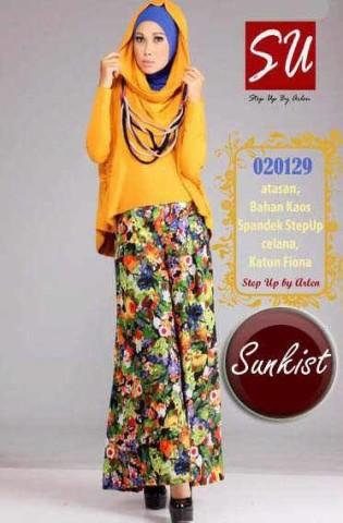 baju muslim elegan online  Step up HAMIDAH Sunkist