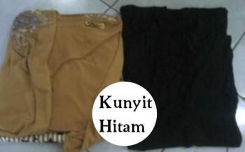 baju muslim fashion  ZEEGA by Marghon kunyit HItam Fanta