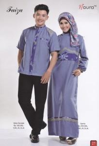 baju muslim dress terbaru  faiza by Naura