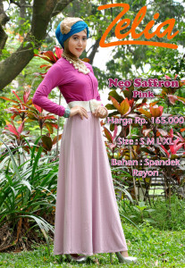busana fashion neo saffron pink