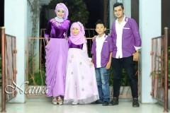 busana muslim elegan Pusat-Gamis-Terbaru-Allisa-by-Naura-Fikri-Ungu