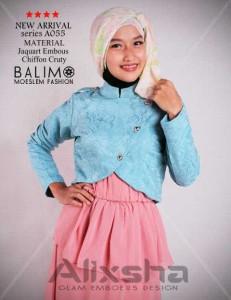 baju muslimah syar'i  Pusat-Gamis-Terbaru-Balimo-Alixsha-Turquice