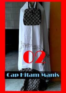 baju muslimah trendy Pusat-Gamis-Terbaru-Cap-Hitam-Manis-2