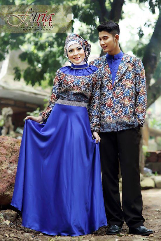Drupadi By Fitria Style Royal Baju Muslim Gamis Modern