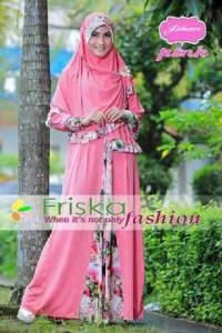 busana muslim elegant Pusat-Gamis-Terbaru-Jihan-Syar'i-By-Friska-Pink
