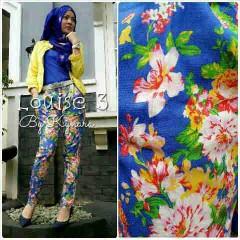 baju muslim branded Pusat-Gamis-Terbaru-Pants-Louise-3-by-kynara-biru