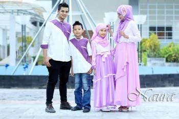 gaun muslimah online Pusat-Gamis-Terbaru-Rizqi-by-Naura-Fikri-Ungu-Muda
