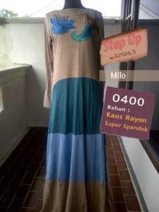 baju muslim elegan wanita Pusat-Gamis-Terbaru-Step-Up-Casio-Milo