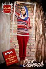 baju muslimah  Pusat-Gamis-Terbaru-Step-Up-Jayden-Merah