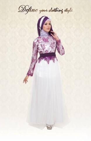 baju muslim hijab online Pusat-Gamis-Terbaru-dafine-peach-white