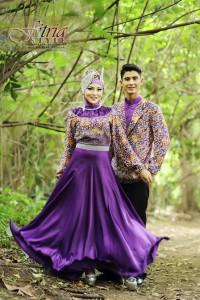 baju muslimah online shopping Pusat-Gamis-terbaru-Drupadi-Purple