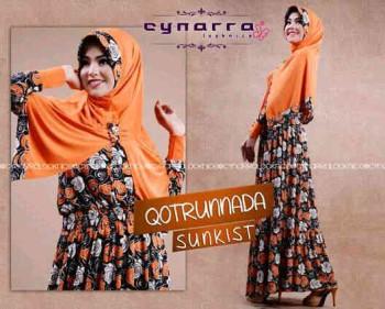 gamis hijab online Qoutrunadda By Cynarra Sunkist