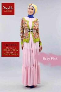 busana wanita muslim online STEP UP JACQUIER Baby Pink