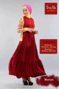 pakaian wanita muslim STEP UP JACQUIER Marun