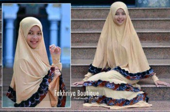 busana fashion online Zahwa by Fakhriya Boutique Coksu