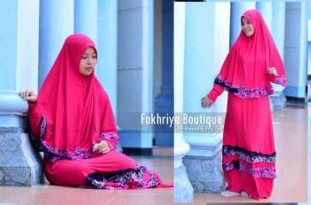 busana hijab modern Zahwa by Fakhriya Boutique Fanta