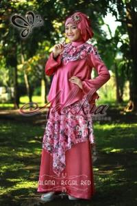 baju muslim pesta terbaru Pusat-Gamis-Terbaru-Alana-by-Adzkia-Fashio-Regal-Red