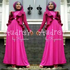 baju muslimah fashion Pusat-Gamis-Terbaru-Audrey-by-kynara-Fanta