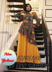 baju muslim modis Pusat-Gamis-Terbaru-Azarenka-by-Ericsummer-Abu-Yellow