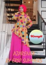 baju wanita terbaru online Pusat-Gamis-Terbaru-Azarenka-by-Ericsummer-Kunyit
