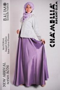 gamis muslimah modern Pusat-Gamis-Terbaru-Balimo-Chamellia-Lavender