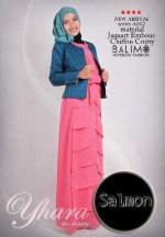 contoh baju muslim modern Pusat-Gamis-Terbaru-Balimo-Yhara-Salmon