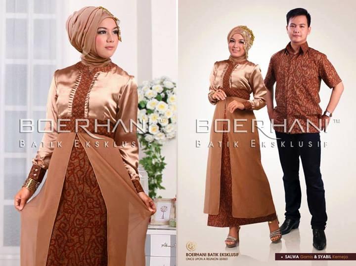 Gamis Salwa By Boerhani Baju Muslim Gamis Modern