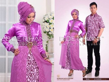 baju muslim cantik modern Pusat-Gamis-Terbaru-Boerhani-Gamis-Silma-dan-Kemeja-Syahdan
