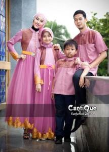 baju muslimah modis  Pusat-Gamis-Terbaru-Cantique-1409-Pink