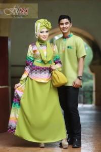 baju muslimah anak muda Pusat-Gamis-Terbaru-Dewa-Dewi-Hijau-Avocado