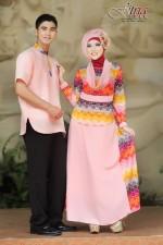 busana pesta muslim modern Pusat-Gamis-Terbaru-Dewa-Dewi-Peach