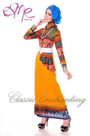 baju muslim elegan modern Pusat-Gamis-Terbaru-Esme-Classic-Enchanting-E-20401