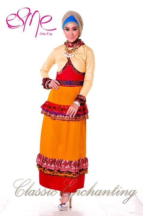 Classic Enchanting E 020403 Baju Muslim Gamis Modern
