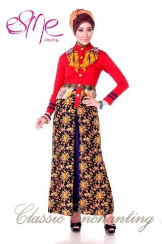 baju muslim elegan modern Pusat-Gamis-Terbaru-Esme-Classic-Enchanting-E-20405