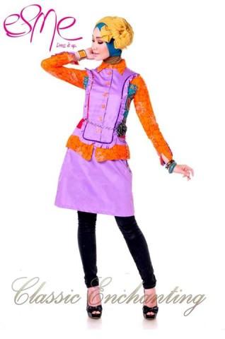 baju muslim modern dan trendy Pusat-Gamis-Terbaru-Esme-Classic-Enchanting-E-20406